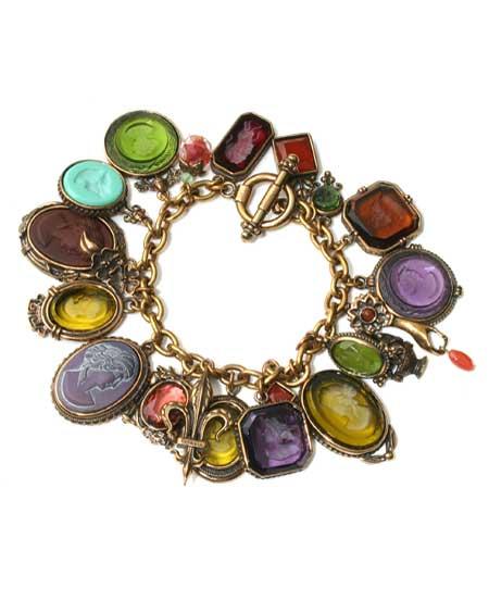 Jewel-tone Charm Du Jour Bracelet