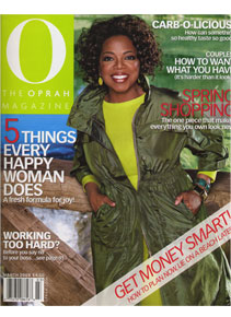 O, The Oprah Magazine March 2008