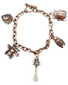 Victorian Garden Bugs&Bunny Bracelet, price: $165.00. Click on 'Large View' for large picture